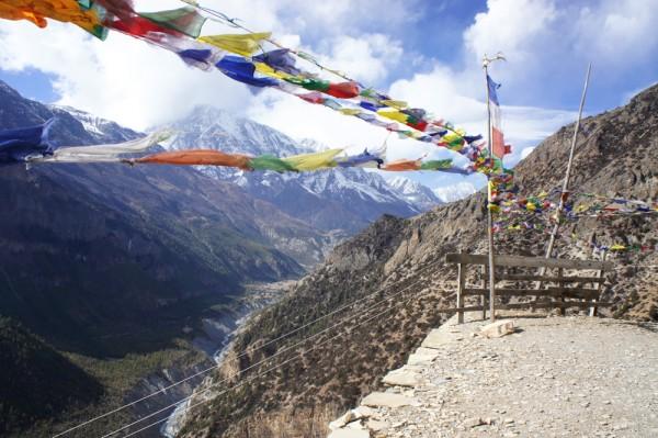 Nepal, Annapurna Circuit. Foto door Roana Luhulima.
